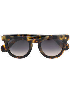 солнцезащитные очки Havana Moncler Eyewear