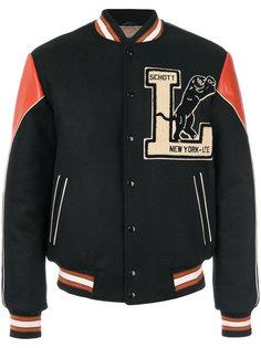 университетская куртка-бомбер Schott