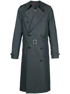 двубортное пальто мешковатого кроя Loveless