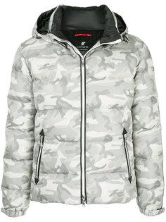 стеганая куртка с камуфляжным принтом Loveless