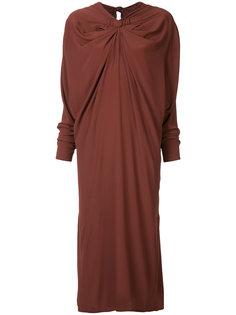 платье с узлом на горловине Marni