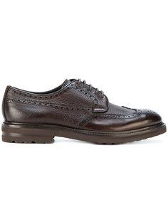 ботинки Дерби с вышивкой Henderson Baracco