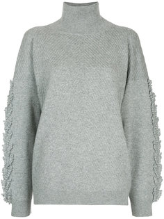 свитер свободного кроя с бахромой Barrie