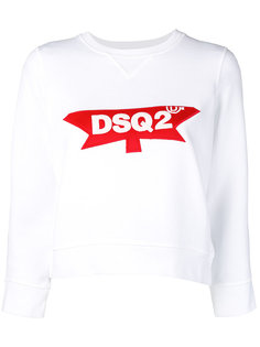 толстовка с логотипом Dsquared2