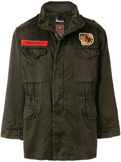 куртка в стиле милитари с аппликацией Maharishi