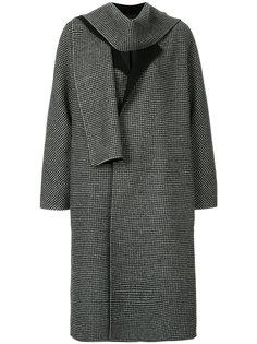 пальто в ломаную клетку  Tomorrowland