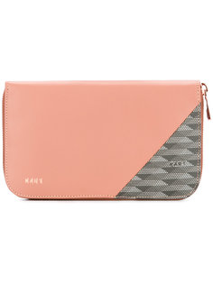 кошелек с панельным дизайном K/A/R/T