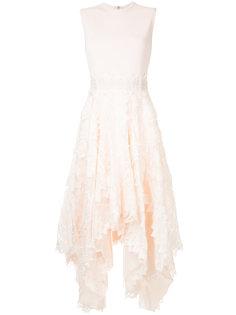 приталенное расклешенное платье  Antonio Berardi