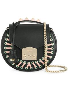 сумка на плечо с элементами шнуровки Salar
