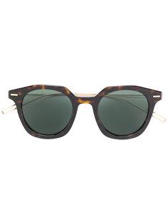 солнцезащитные очки с эффектом черепашьего панциря Dior Eyewear