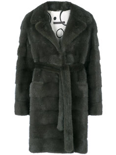 пальто с поясом Simonetta Ravizza