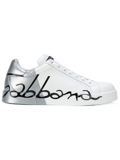 кеды Logo Portofino Dolce & Gabbana