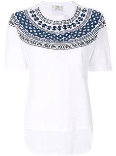 футболка Mini-Maxi Fendi