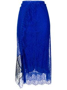 кружевная юбка с асимметричным подолом 3.1 Phillip Lim