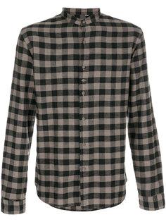 рубашка в клетку с воротником-стойкой Costumein