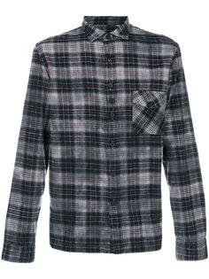 рубашка в клетку с накладными карманами Costumein