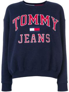 толстовка с принтом Tommy Jeans