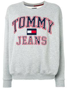 толстовка с принтом логотипа Tommy Jeans