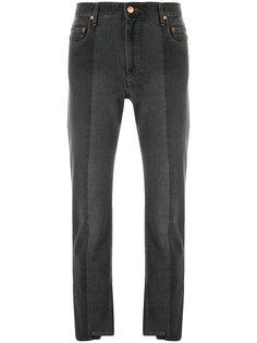 асимметричные укороченные джинсы  Isabel Marant Étoile