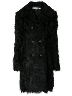 пальто из искусственного меха  McQ Alexander McQueen