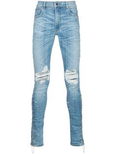 джинсы прямого кроя Amiri