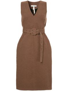 платье с V-образным вырезом Liya