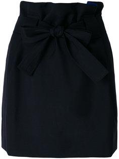 юбка с бантом Maison Kitsuné