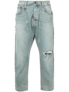 джинсы с заниженной проймой R13