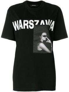 футболка с принтом Warsaw Misbhv