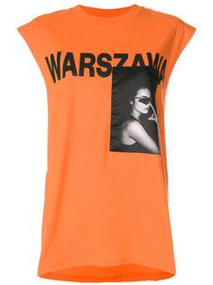 футболка без рукавов Warsaw Misbhv