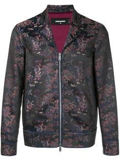 парчовая куртка с восточным узором Dsquared2