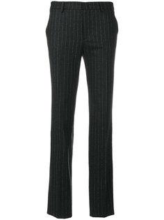 брюки в тонкую полоску Tagliatore