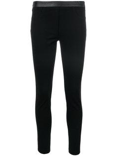 эластичные брюки скинни  Blugirl