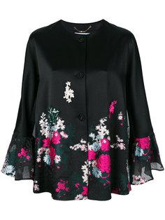 куртка с цветочным принтом Blumarine
