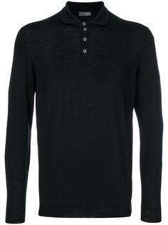 футболка-поло с длинными рукавами Drumohr