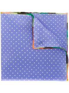 шарф в горошек Paul Smith