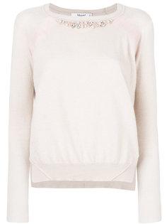 свитер с вышивкой Blugirl