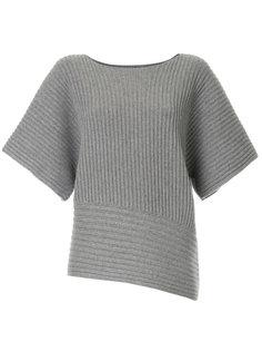 свитер в рубчик с широкими рукавами  Fabiana Filippi
