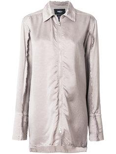 длинная рубашка на молнии Yang Li