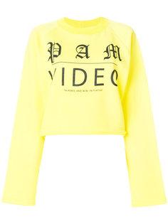 свитер Video с необработанными краями P.A.M. PAM