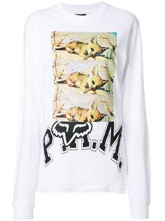 свитер с принтом P.A.M. PAM