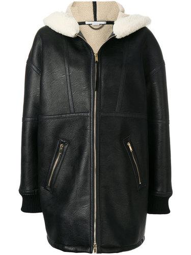 пальто 'Henna' с отделкой под овчину Stella McCartney