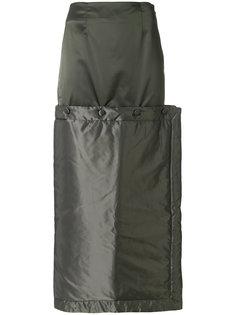 юбка макси на пуговицах Eckhaus Latta