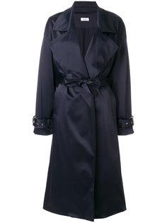 объемное пальто с поясом Nomia