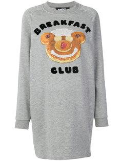 платье-толстовка Breakfast Club Jeremy Scott