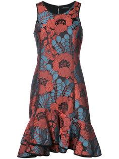 платье с рюшами Natori