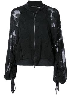 куртка-бомбер с рукавами-фонариком Natori