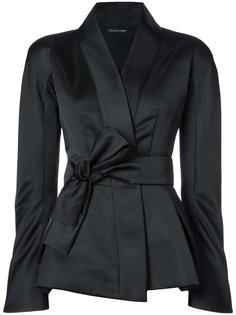 пиджак с запахом и поясом Natori