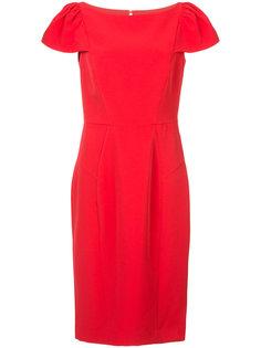 платье со структурированными плечами Milly