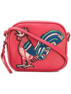 декорированная прямоугольная сумка через плечо Alexander McQueen